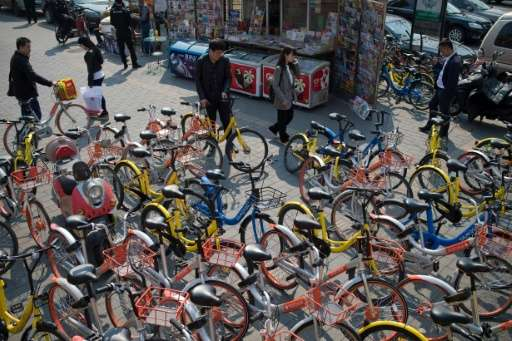 Authorities in China are considering new regulations to curb the cycling chaos—from capping the number of bikes to even barring