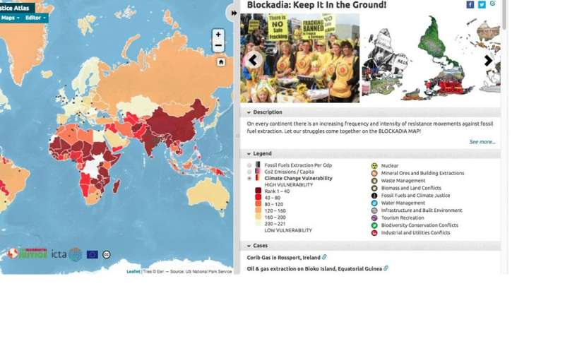 Blockadia map reveals global scale of anti-fossil fuel movement