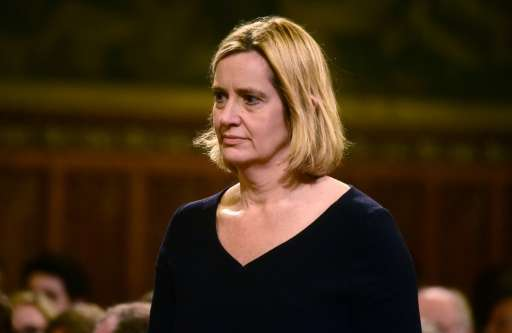 Britain's interior minister Amber Rudd is expected to meet with social media sites and web giants including YouTube, after she f