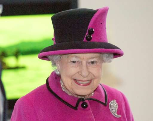 Britain's Queen Elizabeth II is due to formally open Britain's National Cyber Security Centre alongside her husband Prince Phili
