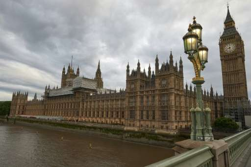 British lawmakers said they were unable to access their e-mail accounts remotely as parliament's security team battled against a