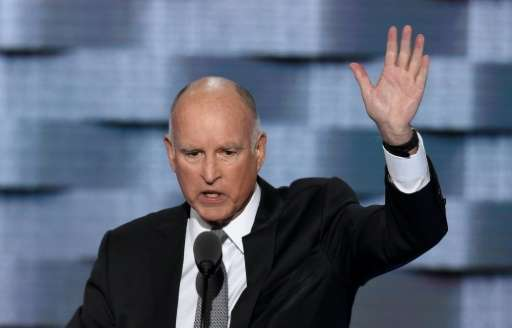 California Governor Jerry Brown is heading to China for a high-profile visit largely centered on environmental issues