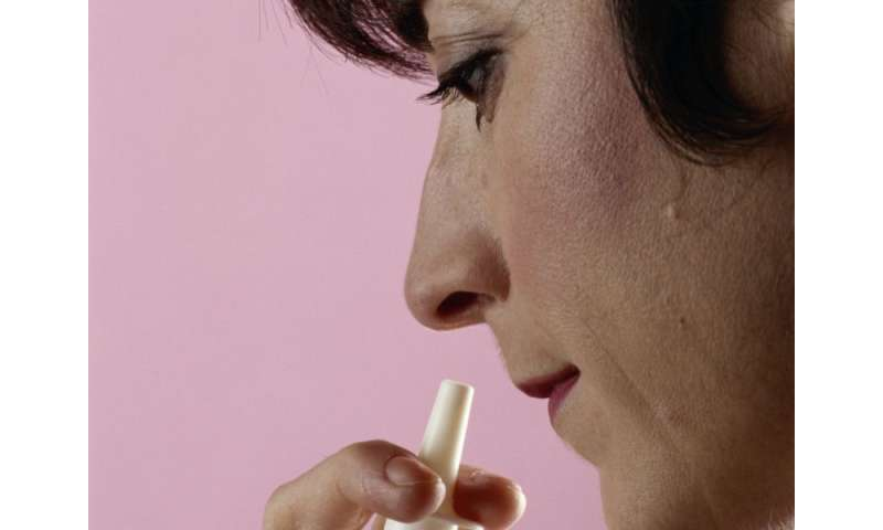 Can experimental nasal spray treat common heart problem?