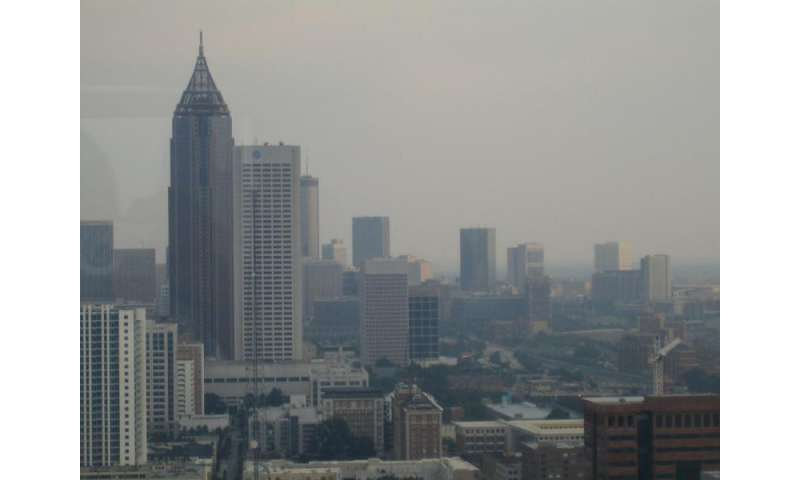 Can poor air quality mask global warming's effects?