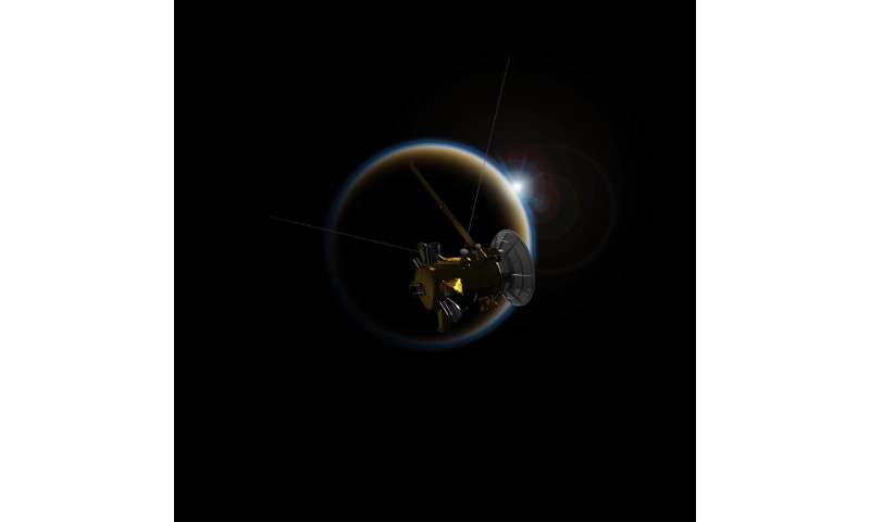 Cassini heads toward final close encounter with Titan