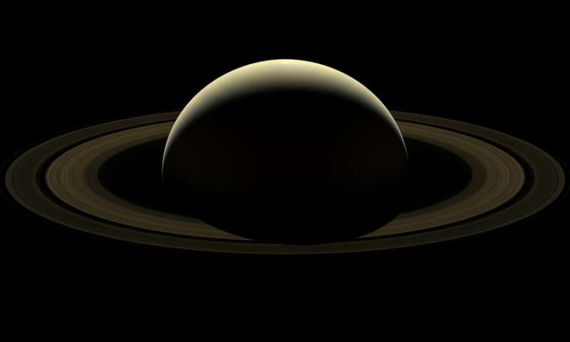 Cassini Image Mosaic: A Farewell to Saturn