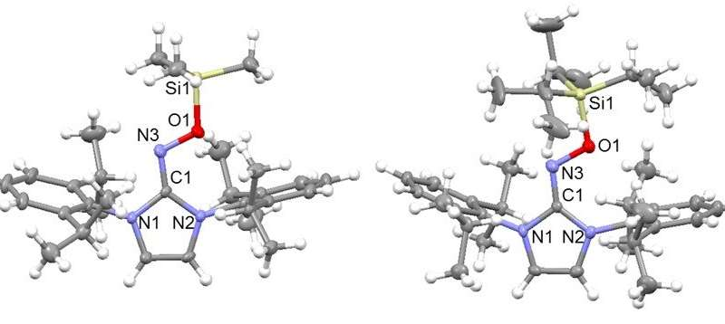 Catching radical molecules before they disappear