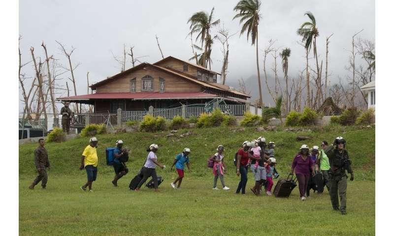Cellphone data reveals Hurricane Maria's impact on travel in Puerto Rico