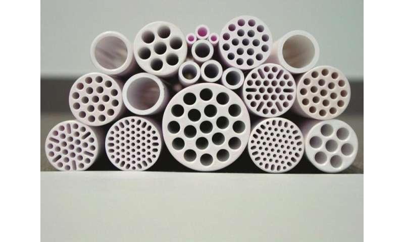 Ceramic membranes dissolve tiny organic molecules with a molar mass of 200 Dalton