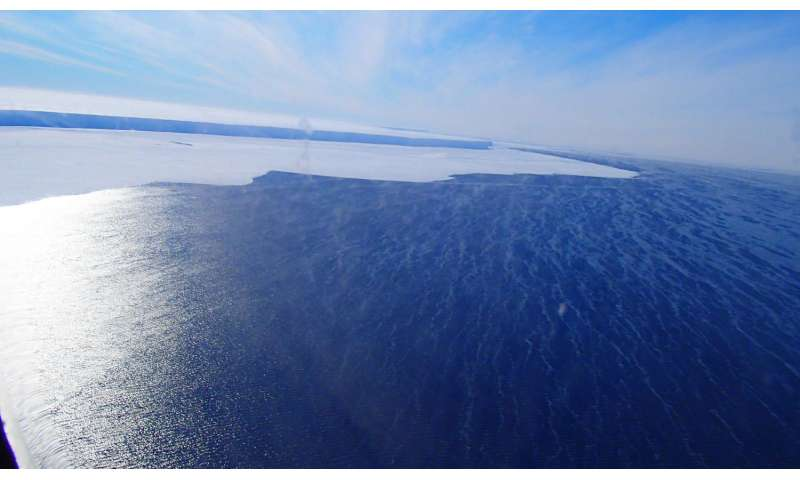 Changing atmospheric conditions may contribute to stronger ocean waves in Antarctica