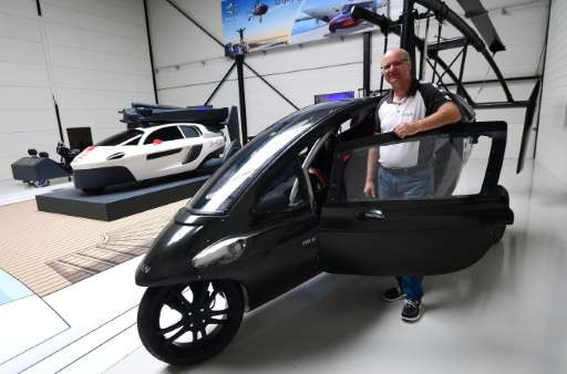 Chief Marketing Officer Markus Hess of flying car developer PAL-V says the firm expects to produce several hundred cars by 2020
