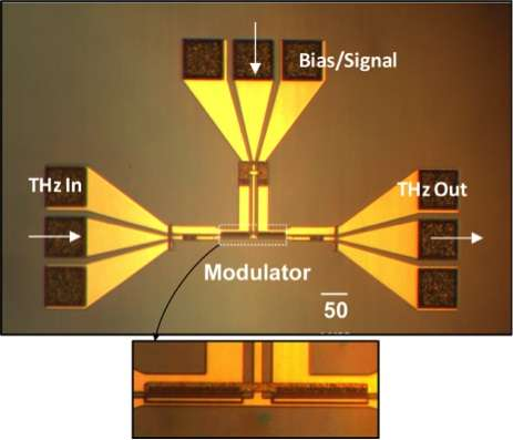 Chip Sized, High Speed Terahertz Modulator Raises Possibility Of Faster  Data Transmission
