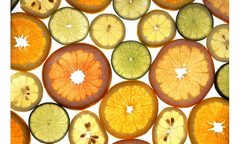 Citrus consumption could lower onset of dementia