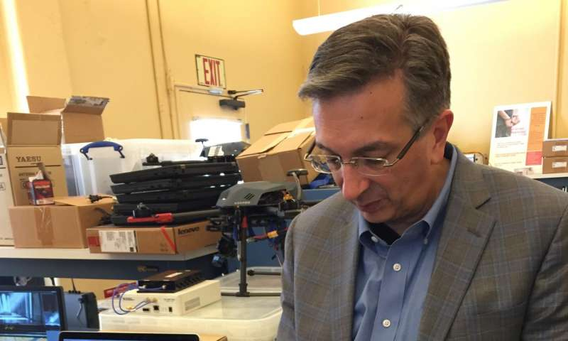 CMU-SV Professor uses The Matrix to train drones in tracking objects