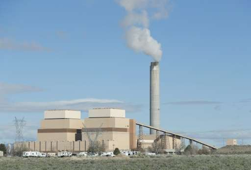 Coal plants, such as this one shown outside Delta, Utah, can  generates particles that are a respiratory hazard as well as clima