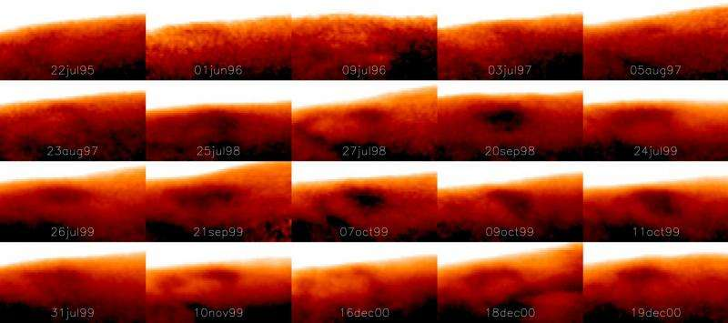 'Cold' great spot discovered on Jupiter
