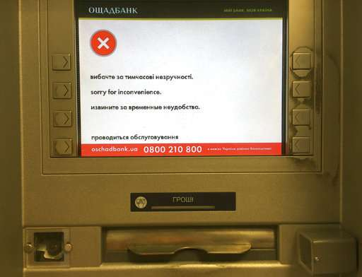 Companies weigh cyberattack cost, with Ukraine hit hard