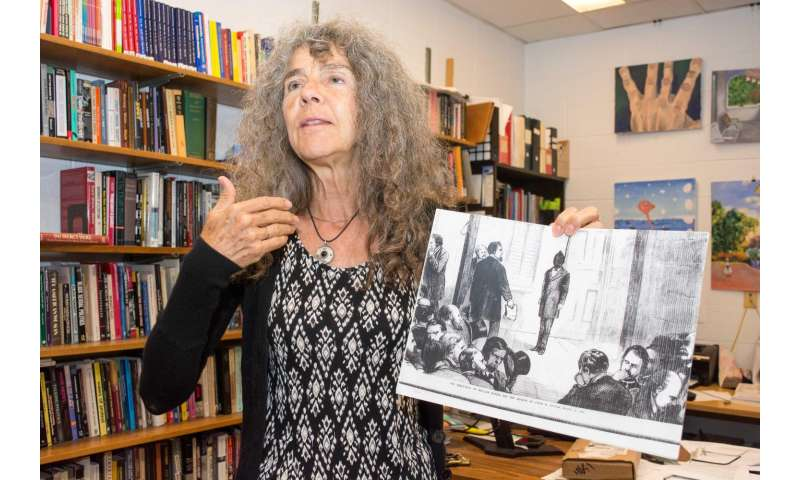 UC professor Annulla Linders said both prisoners and prisons tried to  exhibit respectability at executions. Credit: Lisa Britton/UC Creative  Services