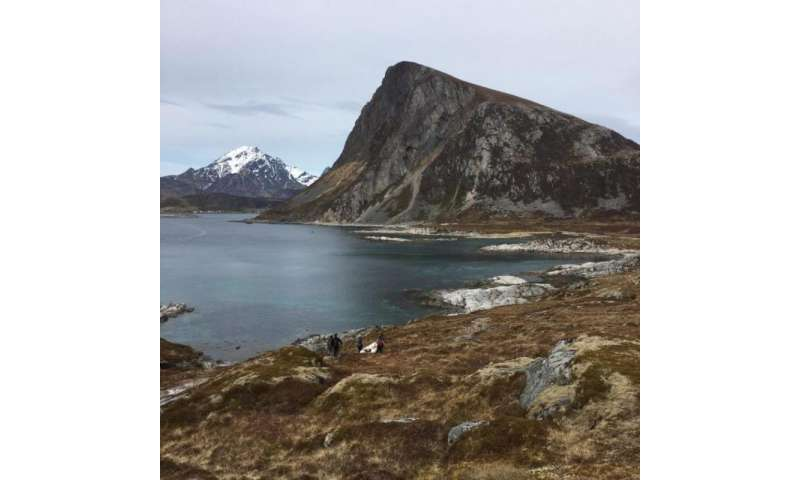 Coring Arctic lakes to study Vikings