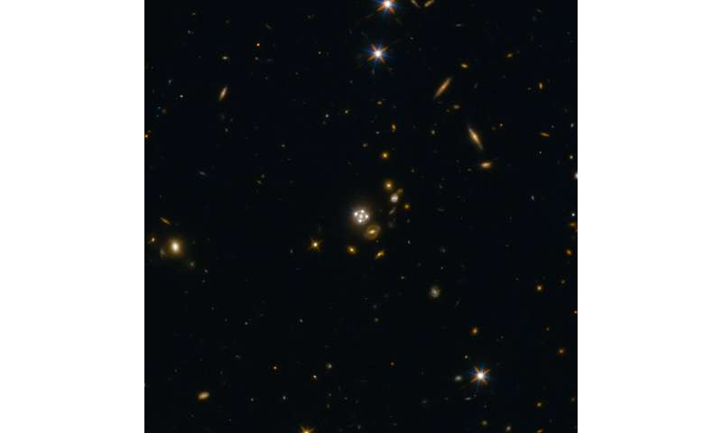 Cosmic lenses support findings on accelerated universe expansion