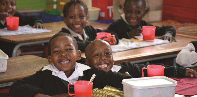 Could breakfast and lunch at schools reduce stunted growth?