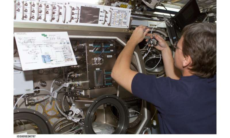 Crystals grown aboard space station provide radiation detecting technology