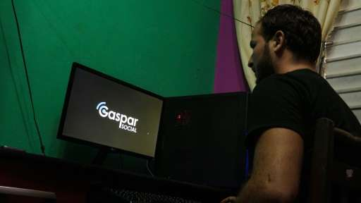 Cuba's Gaspar Social started as a network for playing video games and has developed into a local version of Facebook