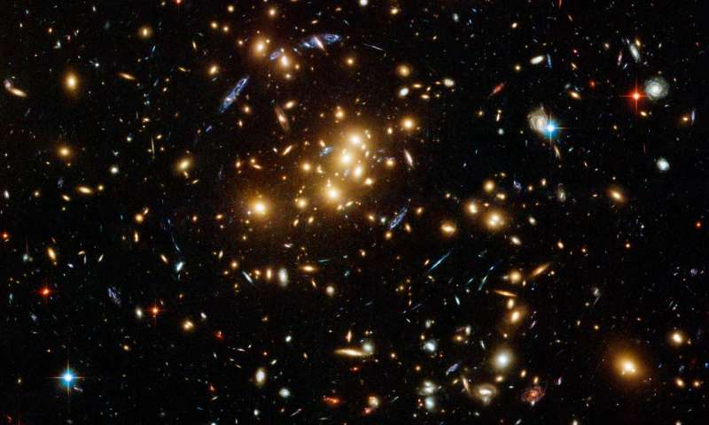 CU Boulder researchers explain mystery of 'banging' galaxy clusters