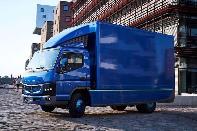 Daimler's Fuso eCanter