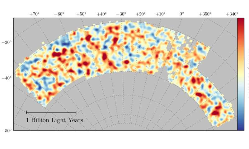 Dark Energy Survey reveals most accurate measurement of universe's dark matter
