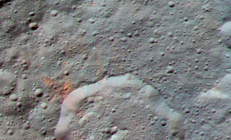 Dawn discovers evidence for organic material on Ceres (Update)