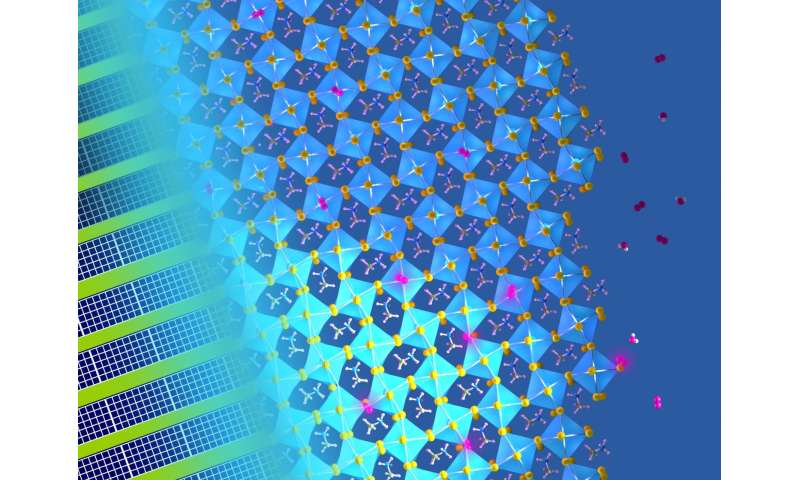 Defects in next-generation solar cells can be healed with light