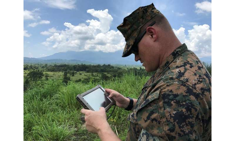 Defining the danger zone: New mapping software makes live-fire training safer