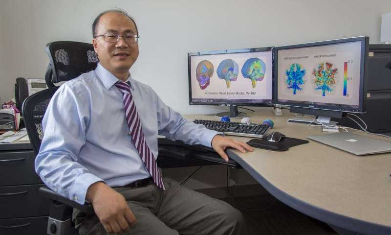 Developing highly specific computer models to better diagnose concussions in real time