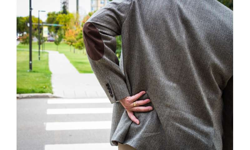 Does your back feel stiff? Well, it may not actually be stiff, study finds