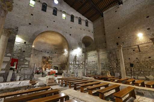 Domitilla catacombs unveiled after years of renovation
