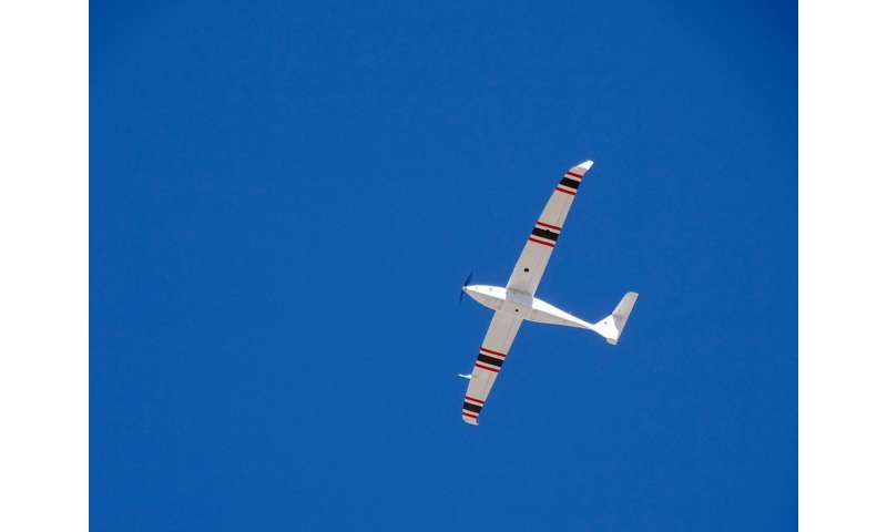 DRI unmanned cloud-seeding realizes beyond visual line of sight