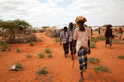 Drought has forced 7.8 million people across the whole of Ethiopia to rely on emergency food handouts to stay alive.