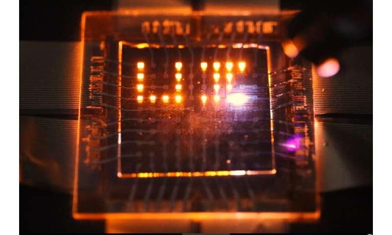 Dual-function nanorod LEDs could make multifunctional displays
