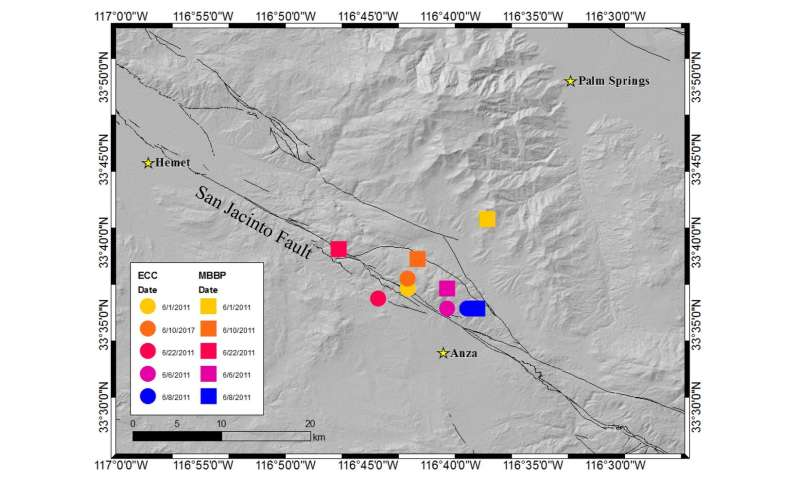 Earthquake risk elevated with detection of spontaneous tectonic tremor in Anza Gap