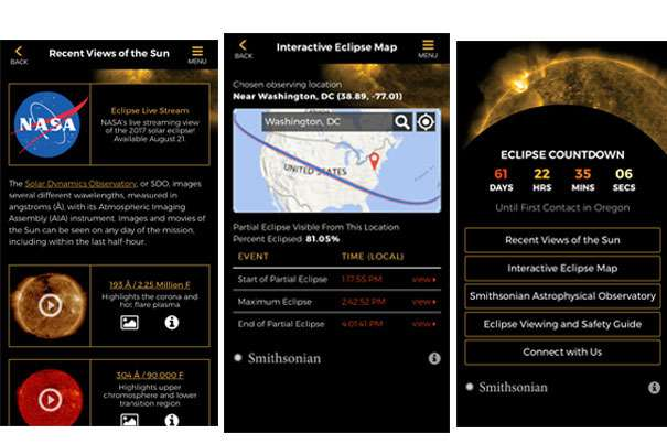 Educational app released ahead of highly anticipated solar eclipse