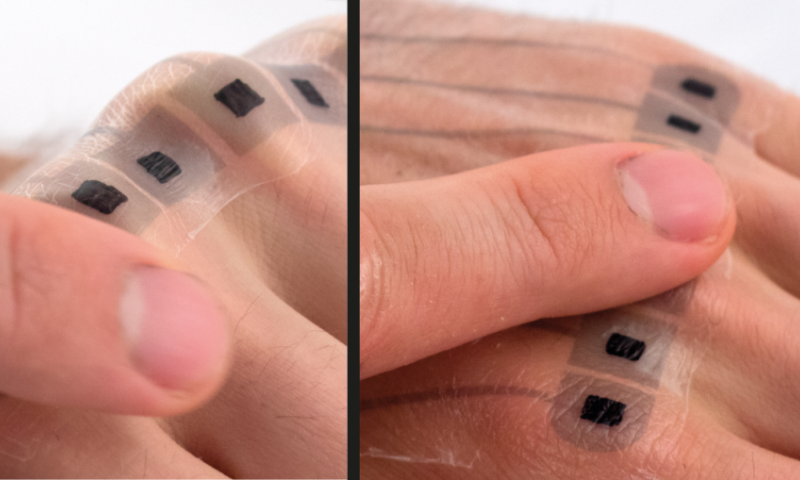 Electronic tattoos: Using distinctive body locations to control mobile devices intuitively