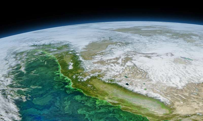 El Niño, Pacific Decadal Oscillation implicated in domoic acid shellfish toxicity