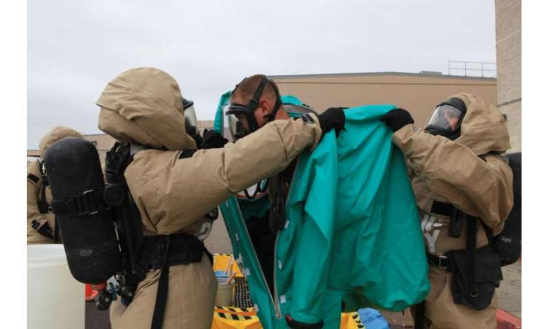 Enzymes versus nerve agents: Designing antidotes for chemical weapons