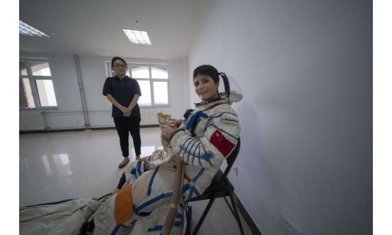 ESA and Chinese astronauts train together