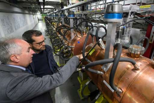 Europe's top physics lab CERN has launched a new  particle accelerator to connect to its Large Hadron Collider proton smasher, i