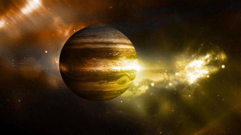 Evidence that Jupiter is the oldest planet in the solar system
