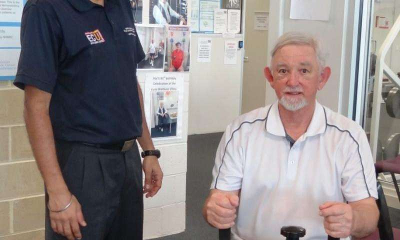 Exercising before prostate surgery helps recovery