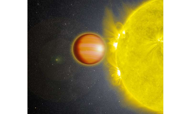 Exoplanet has smothering stratosphere without water