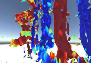 Exploring fluid dynamics in virtual reality